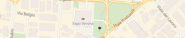 Karte Hotel Expo Villafrance di Verona