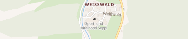 Karte Sport & Vitalhotel Seppl Sankt Leonhard im Pitztal