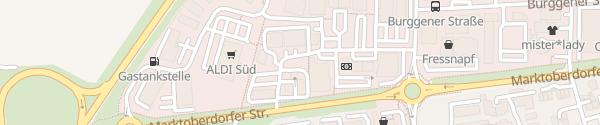 Karte OMV Tankstelle Schongau