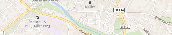 Karte Parkdeck Herzogenaurach