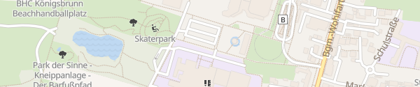 Karte Parkplatz am Mercateum Königsbrunn