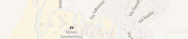 Karte Enel Drive Ladesäule Larderello