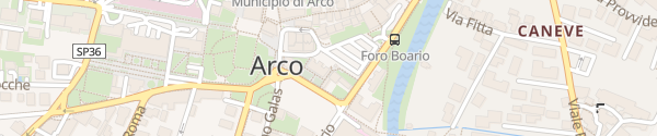 Karte Foro Boario Arco