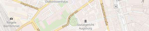 Karte Prinzregentenplatz Augsburg