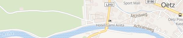 Karte Natur & Aktiv Resort Oetztal Ötz