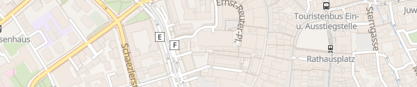 Karte Ernst-Reuter-Parkhaus Augsburg