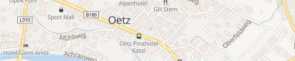 Karte Posthotel Kassl Ötz