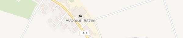 Karte Autohaus Huttner Scheuring