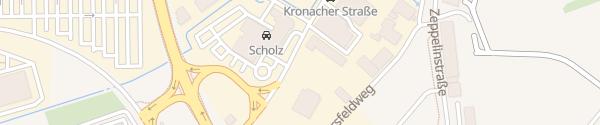 Karte Volkswagen Zentrum Bamberg
