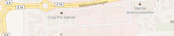 Karte Circle K Stjørdal
