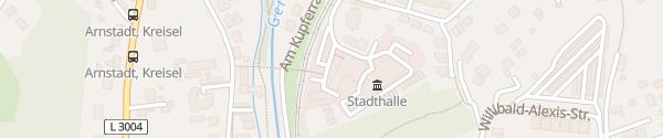 Karte Hotelpark Stadtbrauerei Arnstadt