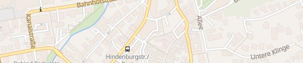 Karte Parkhaus Post Coburg