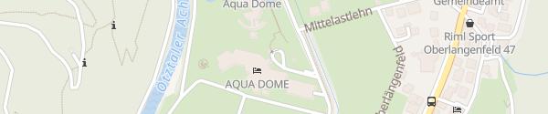 Karte Aqua Dome Hotelgarage Längenfeld