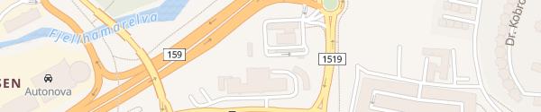 Karte Circle K Fjellhamar