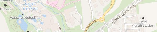 Karte Best Western Kurhotel Bad Staffelstein