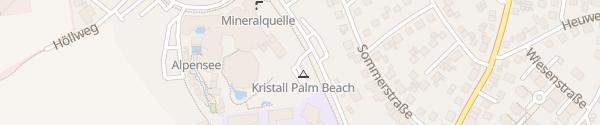 Karte Freizeitbad Palm Beach Stein