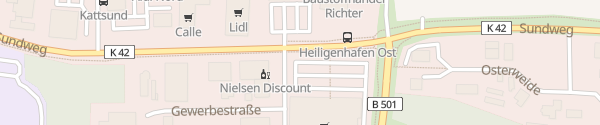 Karte famila Heiligenhafen