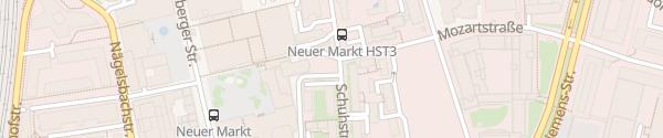 Karte Kurt-Eisner-Platz Erlangen