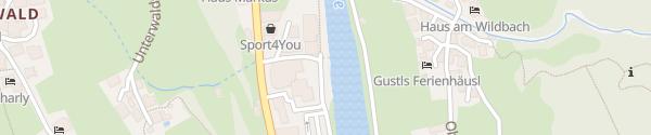 Karte Wohlfahrtstraße Sölden