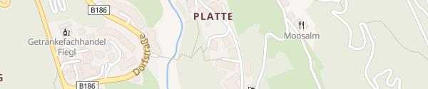 Karte Waldhäusl Appartements Sölden