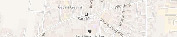 Karte Parkplatz Sacker Hauptstraße Fürth