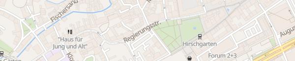 Karte Hirschgarten Erfurt
