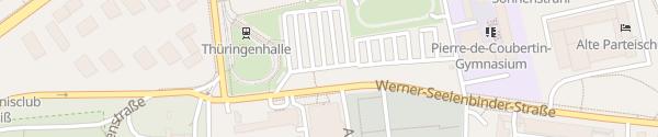 Karte Thüringenhalle Erfurt
