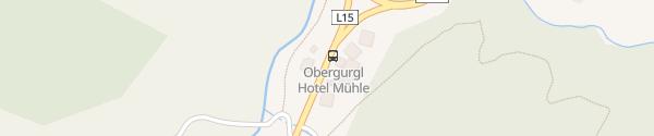 Karte Mühle Resort 1900 Obergurgl