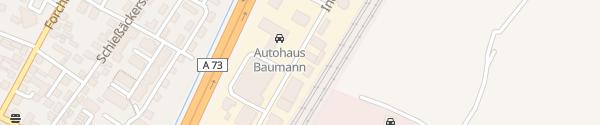 Karte Industriestraße Baiersdorf