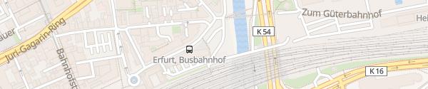 Karte prizeotel Erfurt