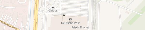 Karte Globus Forchheim