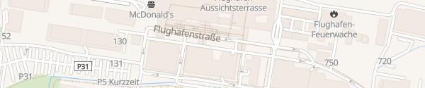 Karte Airport Nürnberg Nürnberg