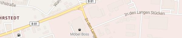 Karte Halbac Autohaus Halberstadt