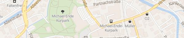 Karte Parkplatz Kongresszentrum Garmisch-Partenkirchen