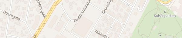 Karte St. Olav videregående skole Sarpsborg