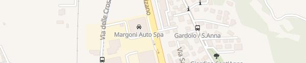 Karte Margoni Auto Trento