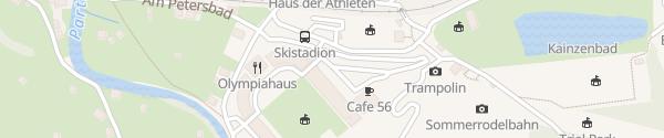 Karte Olympia-Skistadion Garmisch-Partenkirchen