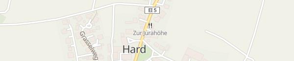 Karte Landhotel Zur Jurahöhe Wellheim