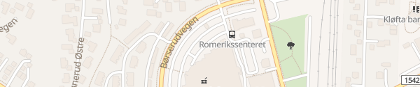 Karte Romerikssenteret Kløfta