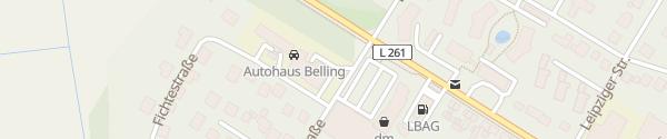 Karte Autohaus Belling Lüchow