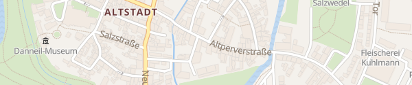 Karte Parkplatz IHK Salzwedel