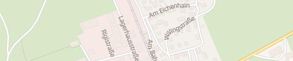 Karte Blauer Bahnhof Uffing