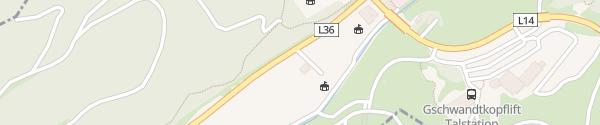 Karte WM Arena / Schanze Seefeld