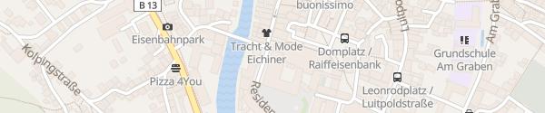 Karte Fürstbischöfliche Residenz Eichstätt Eichstätt