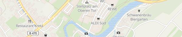 Karte E-Bike Ladesäule Ebermannstadt