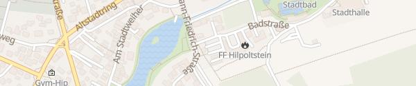 Karte Freiwillige Feuerwehr Hilpoltstein