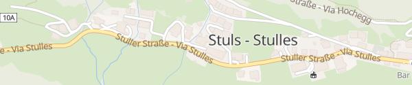 Karte Hotel Kronhof Moos in Passeier