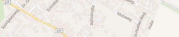 Karte Raiffeisenbank Inzing