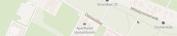 Karte Ostseeallee Boltenhagen
