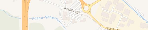 Karte Schnellladesäule Parkplatz Barberino di Mugello